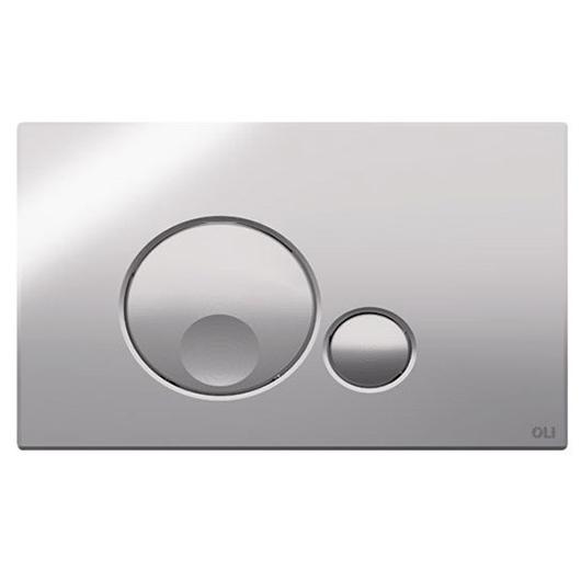 Смывная клавиша OLI GLOBE хром глянцевый 152950 (механическая)