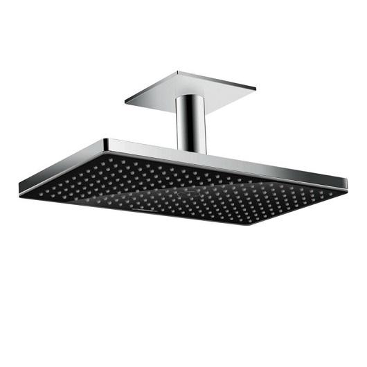 Верхний душ Hansgrohe Rainmaker Select 460 1jet (черное стекло) 24002600