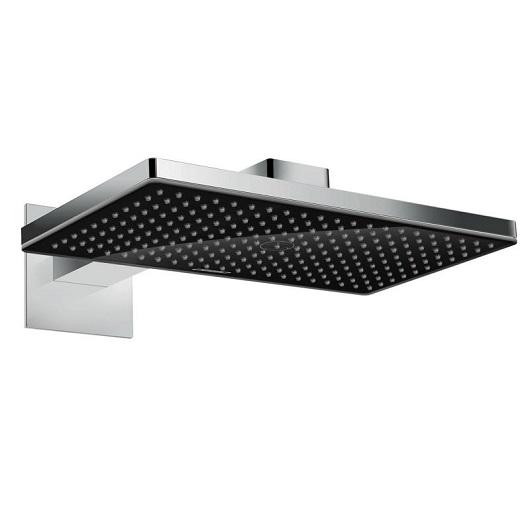 Верхний душ Hansgrohe Rainmaker Select 460 1jet (черное стекло) 24003600