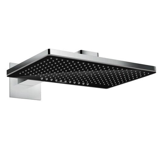 Верхний душ Hansgrohe Rainmaker Select 2jet (черное стекло) 24005600