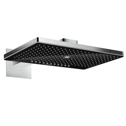 Верхний душ Hansgrohe Rainmaker Select 460 3jet (черное стекло) 24007600