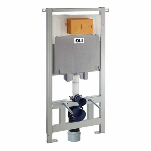 Инсталляция для подвесного унитаза OLI80 Sanitarblock 300573 (пневматика)