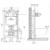 Инсталляция для подвесного унитаза OLI74 Plus Sanitarblock 601801 (механика)