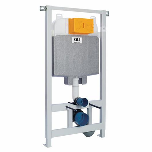 Инсталляция для подвесного унитаза OLI74 Plus Sanitarblock 152978 (880785) (механика, OLIpure)
