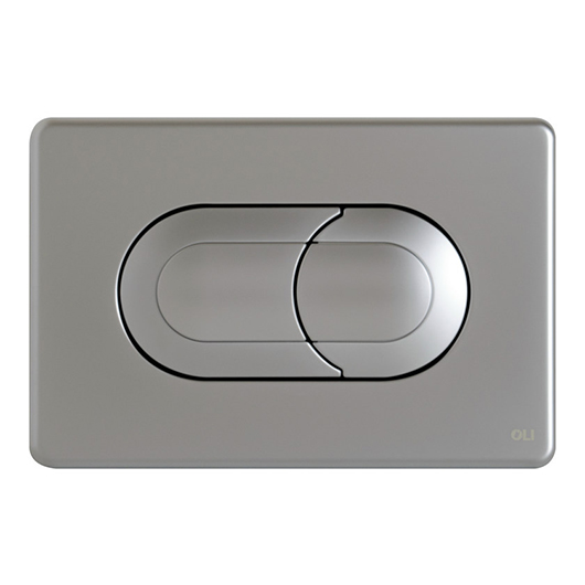 Смывная клавиша OLI SALINA хром матовый 640086 (пневматическая)