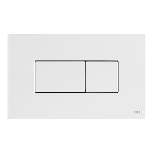 Смывная клавиша OLI KARISMA белая 641001 (пневматическая)
