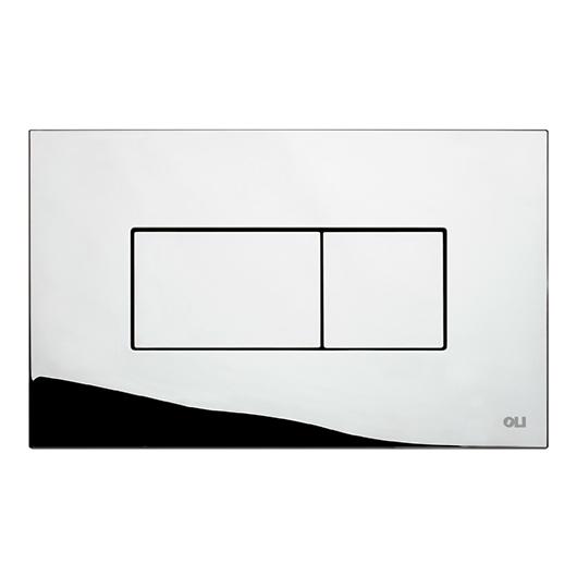 Смывная клавиша OLI KARISMA хром глянцевый 641004 (пневматическая)