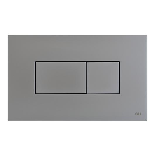 Смывная клавиша OLI KARISMA хром матовый 641006 (пневматическая)