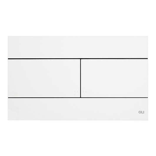 Смывная клавиша OLI SLIM белая 659041 (механическая)