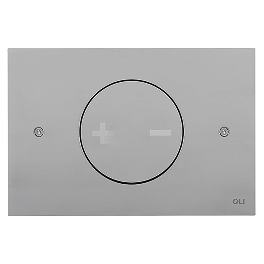Смывная клавиша OLI INO-X 02 хром матовый (механическая) 661002