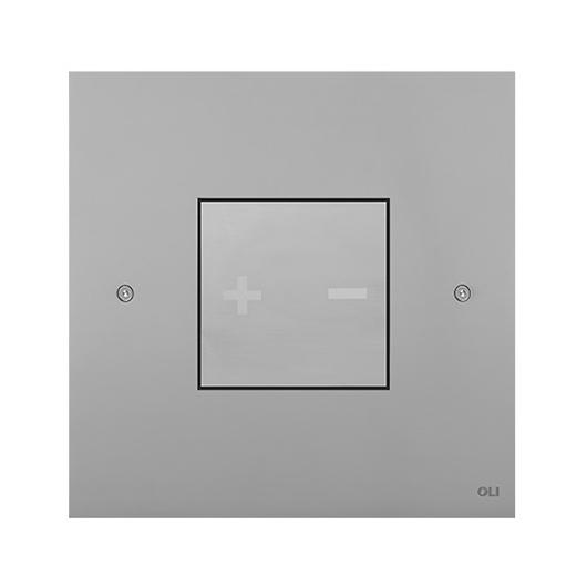 Смывная клавиша OLI INO-X 03 хром матовый (механическая) 661003