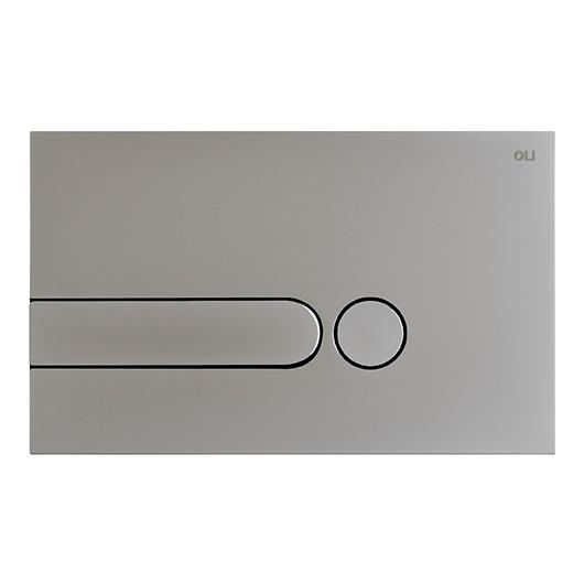 Смывная клавиша OLI IPLATE хром матовый 670006 (механическая)