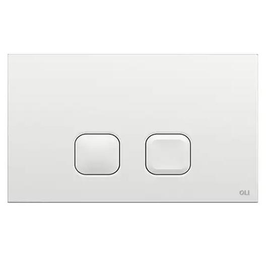 Смывная клавиша OLI PLAIN белая 070826 (механическая)