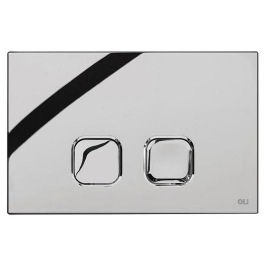 Смывная клавиша OLI PLAIN хром глянцевый 070827 (механическая)