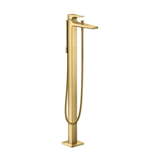 Смеситель для ванны Hansgrohe Metropol 32532990 (полированное золото)