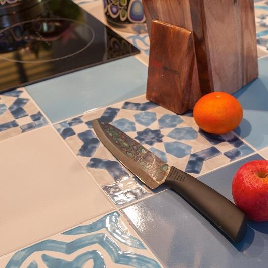 Кухонный нож шеф Mikadzo Imari Black 4992022