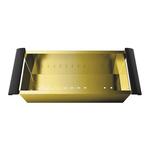 Коландер Omoikiri CO-02 PVD-LG светлое золото (4999003)