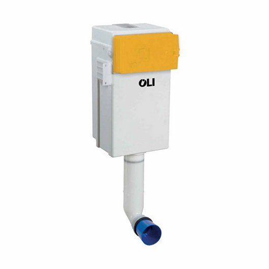 Бачок скрытого монтажа OLI QUADRA Plus 037172 (пневматика)