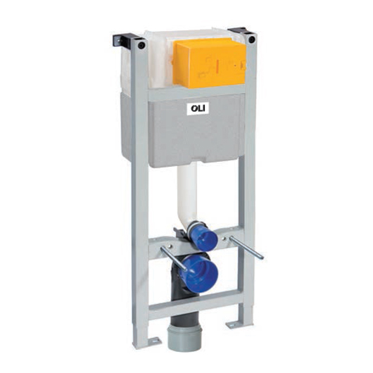 Инсталляция для подвесного унитаза OLI EXPERT EVO Plus Sanitarblock 721803 (механика, высота 1130 мм)