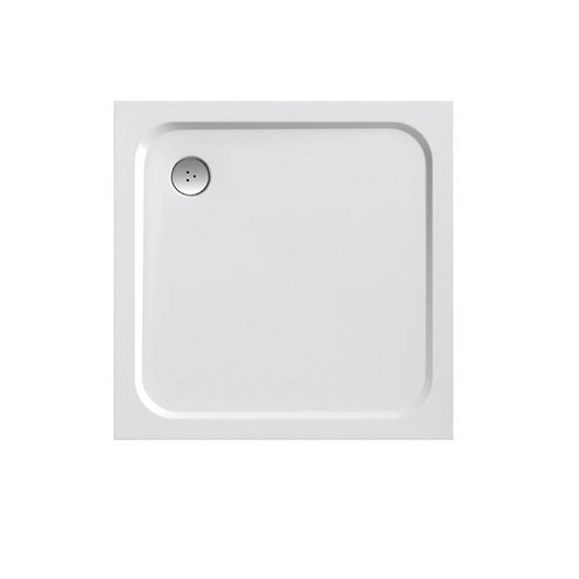 Душевой поддон Ravak Perseus Pro-100 Chrome XA04AA01010 (1000×1000 мм)