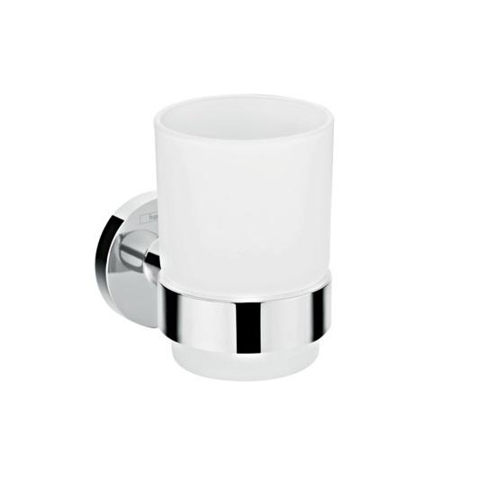 Стаканчик для зубных щеток с держателем Hansgrohe Logis Universal 41718000