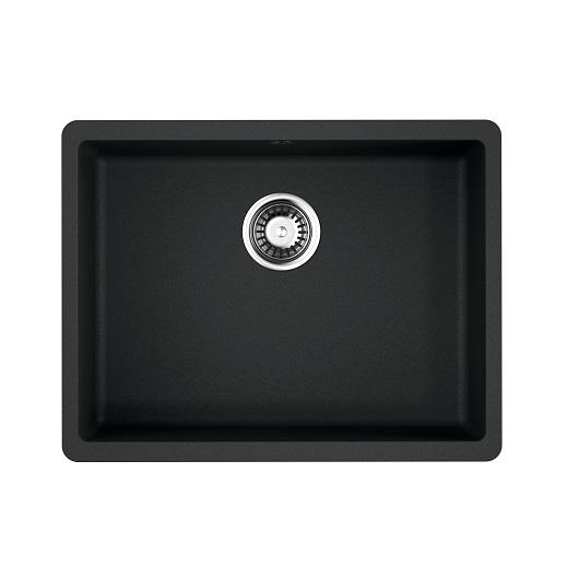 Мойка кухонная Omoikiri Kata 54-U BL 4993410 (черный, 540х420 мм)