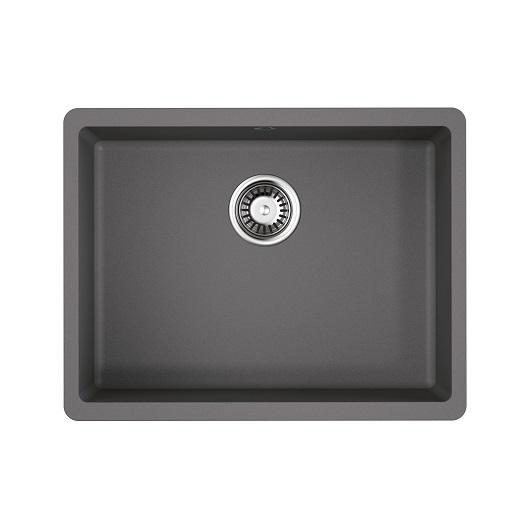 Мойка кухонная Omoikiri Kata 54-U GR 4993411 (ленинградский серый, 540х420 мм)