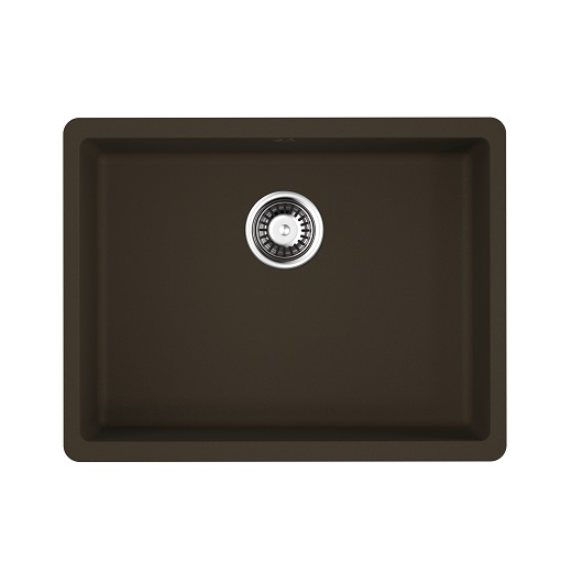 Мойка кухонная Omoikiri Kata 54-U DC 4993409 (темный шоколад, 540х420 мм)