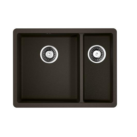Мойка кухонная Omoikiri Kata 55-2-U DC 4993388 (темный шоколад, 550х420 мм)