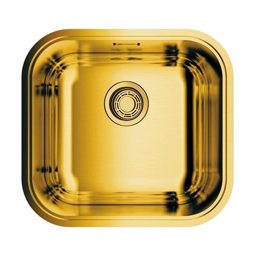 Мойка кухонная Omoikiri Omi 44-44-U/I AB 4993190 (латунь, 445х415 мм)