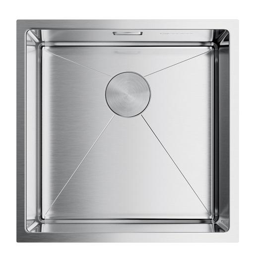 Мойка кухонная Omoikiri Taki 44-U/IF IN 4973044 (нержавеющая сталь, 440х440 мм)