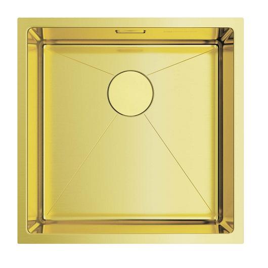 Мойка кухонная Omoikiri Taki 44-U/IF LG 4973520 (светлое золото, 440х440 мм)