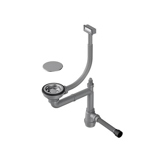 Сифон для мойки Omoikiri WK-1C IN нержавеющая сталь (4956472)