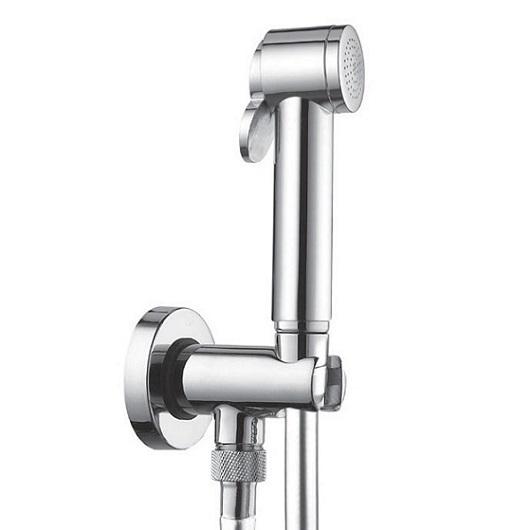 Гигиенический набор Bossini Paloma C69013 CR (хром глянцевый) с блокиратором подачи воды
