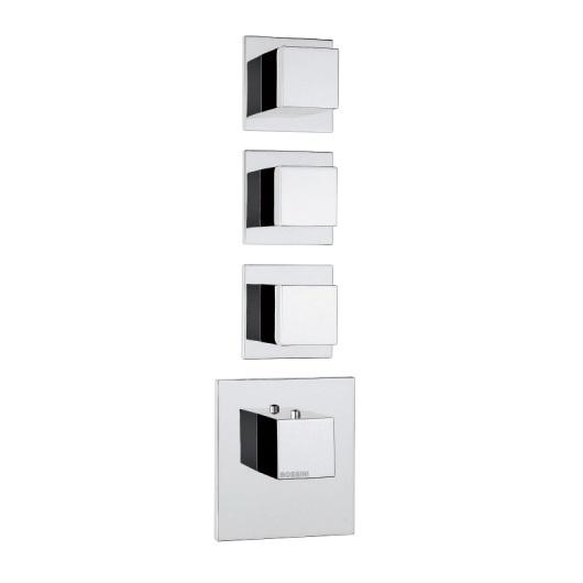 Термостат Bossini Cube Z032205 CR (хром глянцевый)