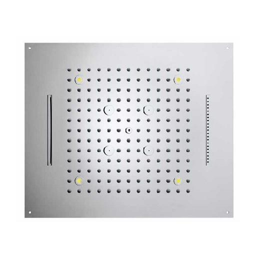 Верхний душ Bossini Dream-4 Cromotherapy H38908 CR (570х470 мм)