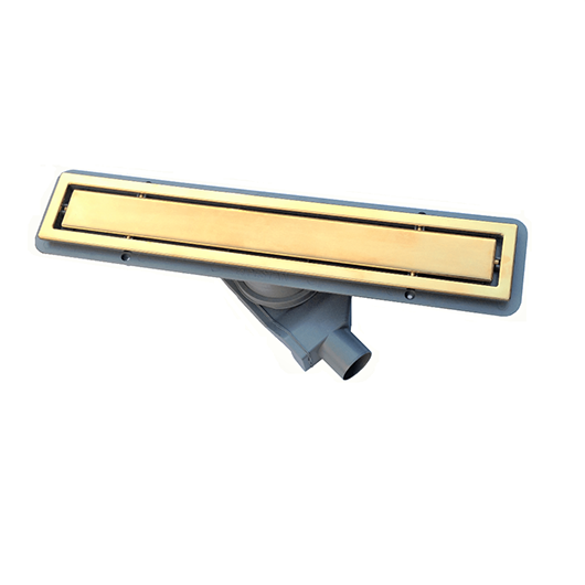 Душевой лоток Pestan Confluo Premium Line Gold 850 (850 мм, золото/под плитку) 13100055