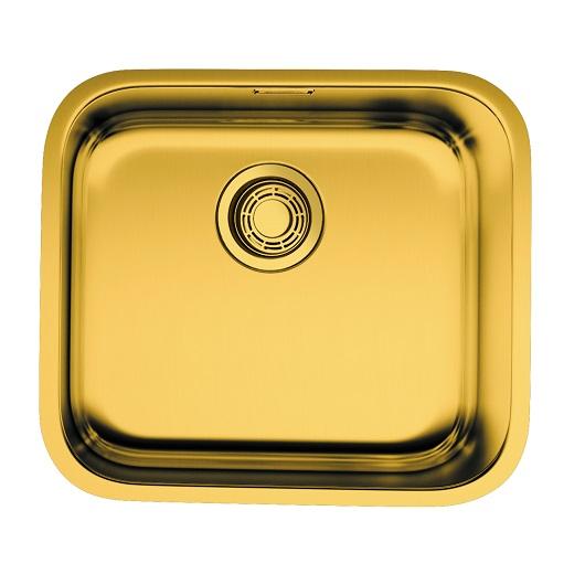 Мойка кухонная Omoikiri Omi 49-U/I AB 4993067 (латунь, 490х440 мм)