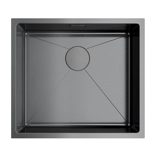 Мойка кухонная Omoikiri Taki 49-U/IF GM 4973524 (вороненая сталь, 490х440 мм)