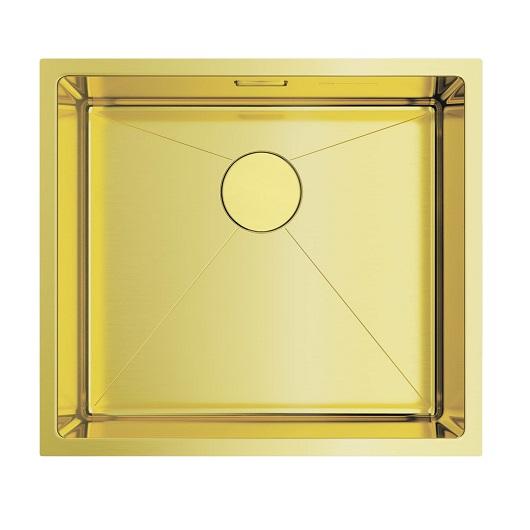 Мойка кухонная Omoikiri Taki 49-U/IF LG 4973523 (светлое золото, 490х440 мм)
