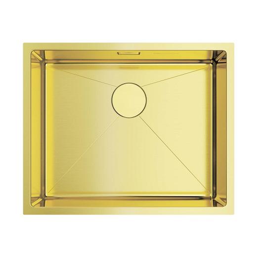 Мойка кухонная Omoikiri Taki 54-U/IF LG 4973093 (светлое золото, 540х440 мм)