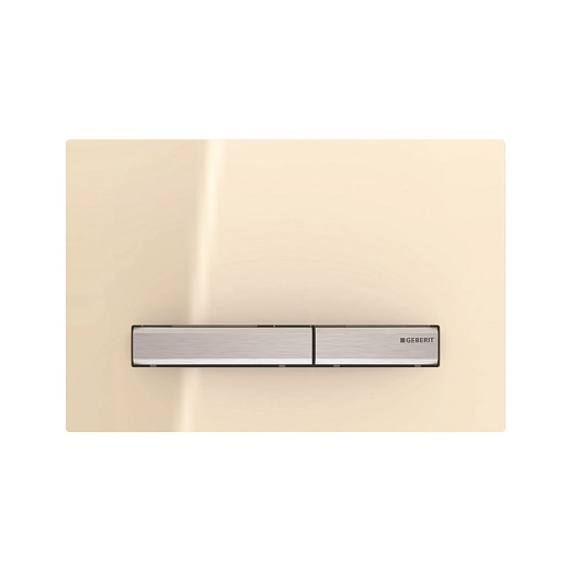 Смывная клавиша Geberit Sigma50 115.788.TG.2 (стекло песочное)