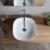 Раковина накладная Scarabeo Glam 40 1806 (400х400 мм)