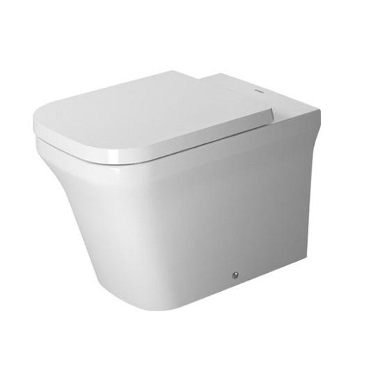 Чаша приставного унитаза Duravit P3 Comforts Rimless 2166090000 безободковая