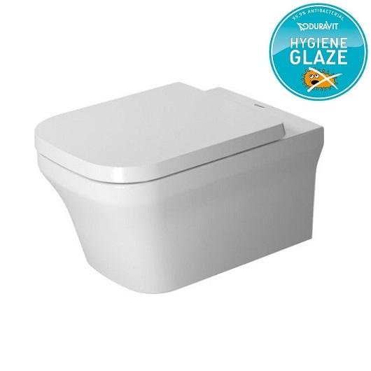 Чаша подвесного унитаза Duravit P3 Comforts Rimless 2561092000 безободковая (HygieneGlaze)