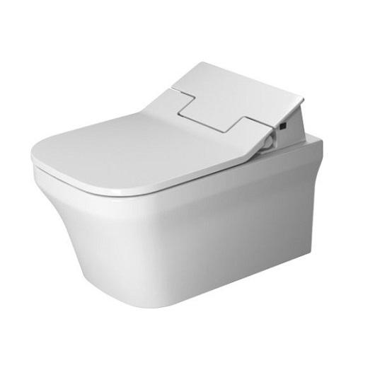 Чаша подвесного унитаза Duravit P3 Comforts Rimless 2561590000 безободковая (для крышки-биде SensoWash)