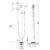 Смеситель для ванны Timo Arisa 5300/03Y-CR (черный матовый)