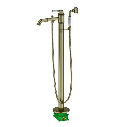 Смеситель для ванны Timo Arisa 5300/02Y-CR (antique)