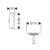 Внешняя часть слива-перелива для ванны Hansgrohe Flexaplus 58185670 (черный матовый)