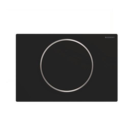 Смывная клавиша Geberit Sigma10 115.758.14.5 (матовый черный, с легкоочищаемой поверхностью)